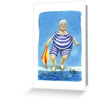 Mrs Ogden Greeting Card