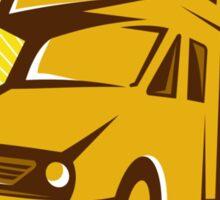 Camper Van Mobile Home Retro Sticker