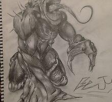 resident evil drawing. by benpergolizzi