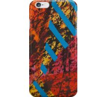 Corner Splatter # 8 iPhone Case/Skin
