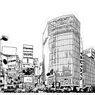 Tokyo - Shibuya by parisiansamurai