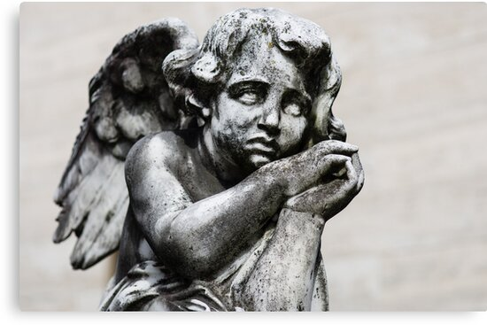 Sad Little Angel by Karen Havenaar