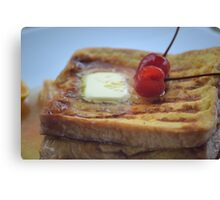 French toast (Thai style) Canvas Print