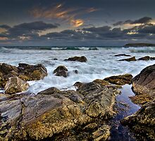 Battered Rocks by Oliver Winter