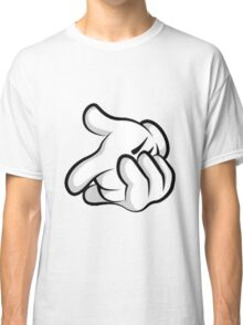 Mickey Mouse hands Classic T-Shirt