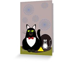 Dressed for Dinner Greeting Card