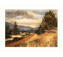 Country Scene Art Print