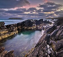 Jagged Rocks by Oliver Winter