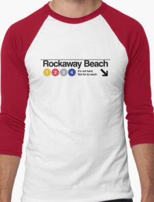 Rockaway Beach - Color Men's Baseball ¾ T-Shirt