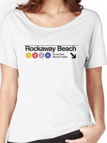 Rockaway Beach - Color Women's Relaxed Fit T-Shirt