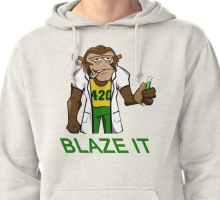 420 Blaze It Pullover Hoodie