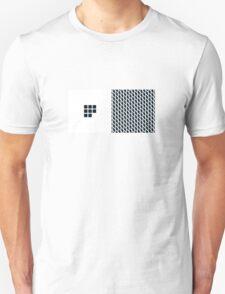 Number BLACK+white 8 Unisex T-Shirt