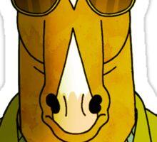 Bojack Horseman - Sunglasses (YELLOW) Sticker