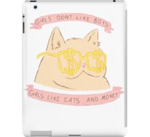 Cats and Money iPad Case/Skin