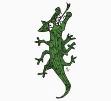 Green lizard Kids Tee