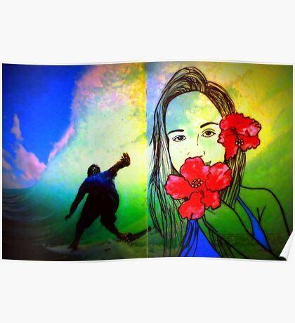 Hawaiin Girl Poster