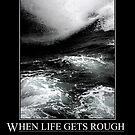 When the Sea gets Rough by Karo / Caroline Evans (Caux-Evans)