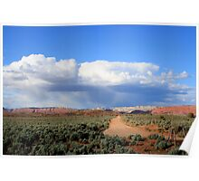 Kodachrome State Park,along the dirt road,Utah Poster