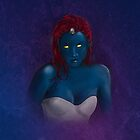 Mystique by ayebloodyright