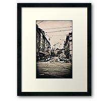 Zürich01 Framed Print