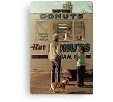 Donuts for Sale Canvas Print