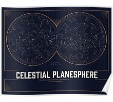 The Celestial Planesphere Poster