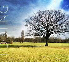 London Postcard Series: Tooting Common IV by Ludwig Wagner