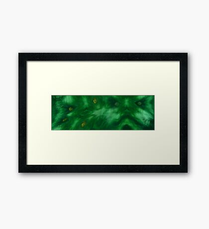 chakra treatment V Framed Print