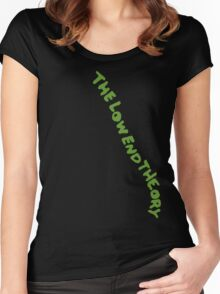Low End Theory Pt 1 Women's Fitted Scoop T-Shirt