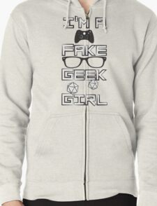 I'm A Fake Geek Girl T-Shirt