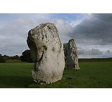 Dogstone - Avebury stone circle Photographic Print