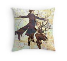Sherlock Steampunk Throw Pillow