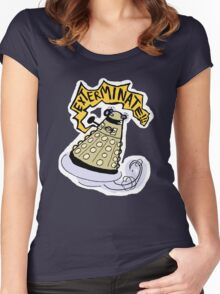elevate/exterminate Women's Fitted Scoop T-Shirt