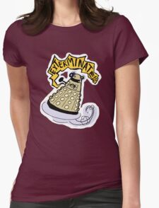 elevate/exterminate Womens Fitted T-Shirt