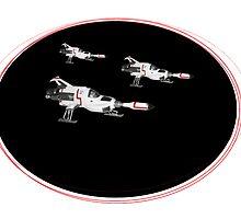 UFO SHADO Interceptors by Radwulf