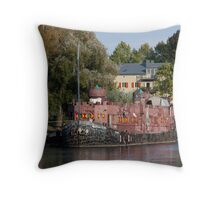 Middle Ages Adventure Throw Pillow