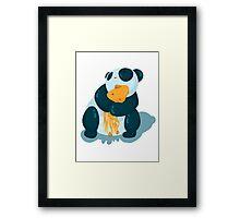 Pandas & squids Framed Print