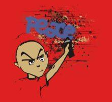 Peace Graffiti - Grunge T-Shirt by Denis Marsili - DDTK