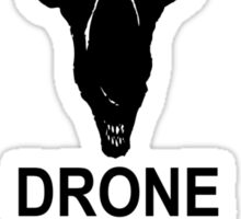 Drone Save The Queen Sticker