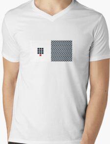 Number BLACK+white 10 Mens V-Neck T-Shirt