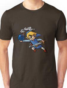 Blue toon link Unisex T-Shirt