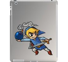 Blue toon link iPad Case/Skin
