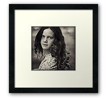 Tane at Twelve Framed Print