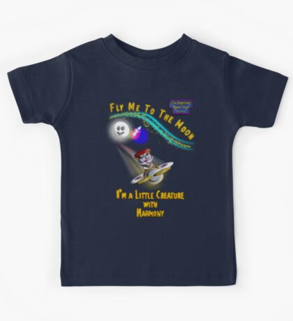 Major Scale - 'Fly Me to the Moon' Kids Tee