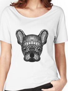 Zentangle Dog Women's Relaxed Fit T-Shirt