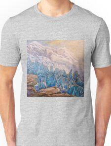 seracs, glaciers, Mont Blanc, Unisex T-Shirt