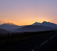 Snowdon - Beacon of Light by Simon Pattinson