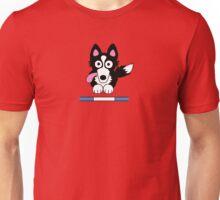 Collie Dog Agility Unisex T-Shirt