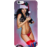 Miss Xmas iPhone Case/Skin