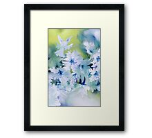 Angel Of Flowers Framed Print